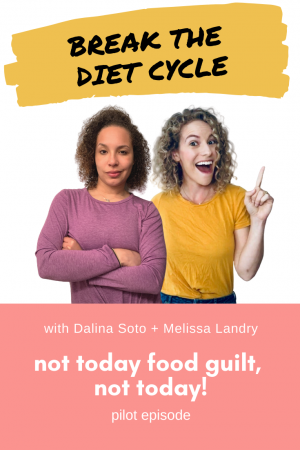 not today food guilt, not today!