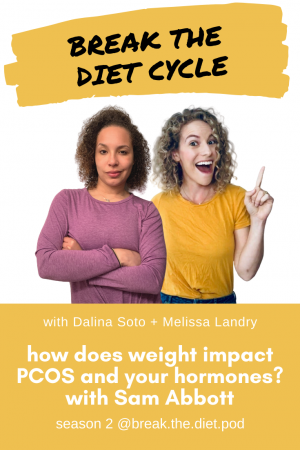 How does weight impact PCOS and your hormones? with Sam Abbott