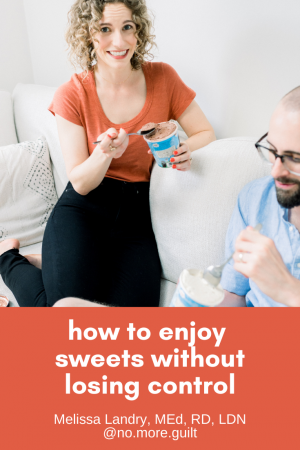 how to enjoy sweets without losing control
