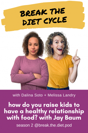 how do you raise kids to have a healthy relationship with food? with Jay Baum