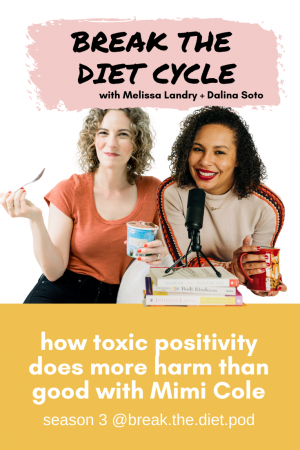 how toxic positivity does more harm than good with Mimi Cole