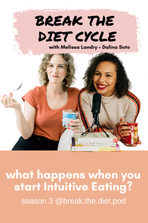 what happens when you start intuitive eating?